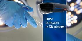 A FOST EFECTUATă PRIMA OPERAțIUNE CU OCHELARI 3D - Bimedis - 1
